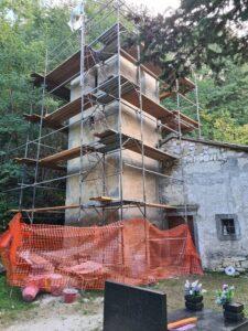 obnova zvonika crkva brgudac
