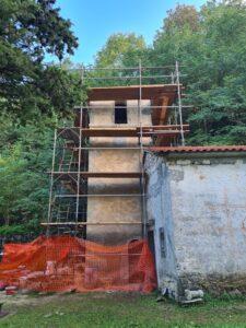 obnova zvonika crkva brgudac 1